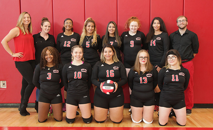 BHCC Volleyball 2019 Team