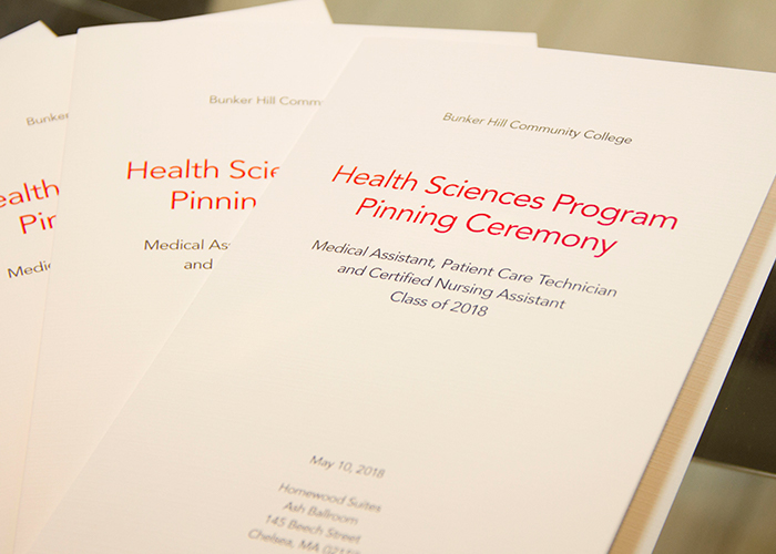 photo of health sciences pinning program