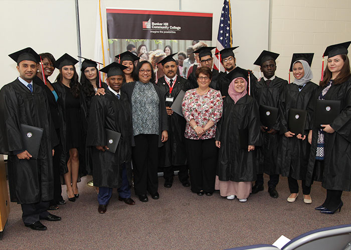 group of graduating ccip students