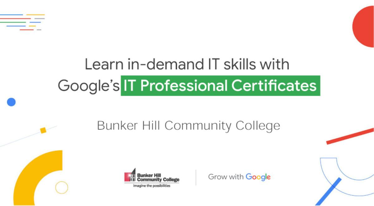 Learn in-demand IT skills with Google's IT Professional Certificates