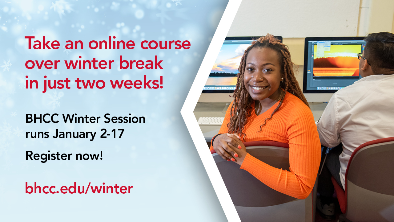 Take an Online course over winter break in just two weeks. Winter Registration 2020, Register now
