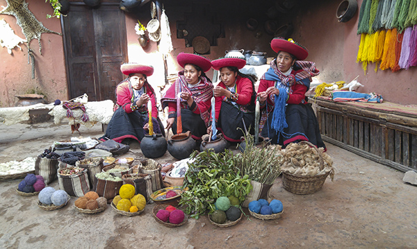 2016 Student Photo Contest 1st Place Winner:  Spin Me a Yarn; Chincheros, Peru
