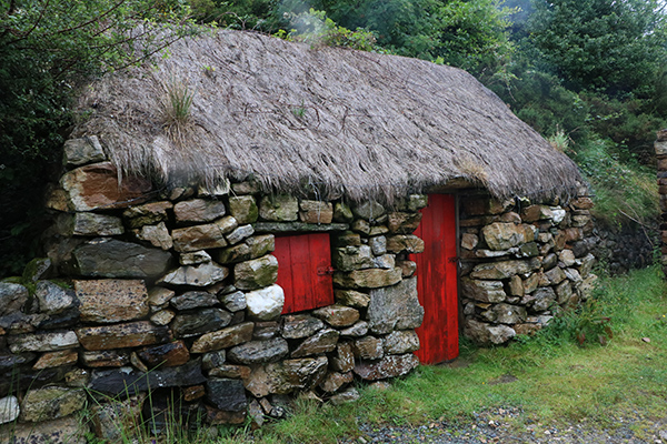 2016 Student Photo Contest 2nd Place: Dan O'Hara's Homestead; Connemara, Ireland