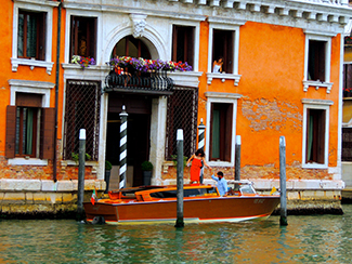 Best Study Abroad Student Photo Contest 2015 by Chase Ybarra.  View from the Canal.  Location: Venice, Italy