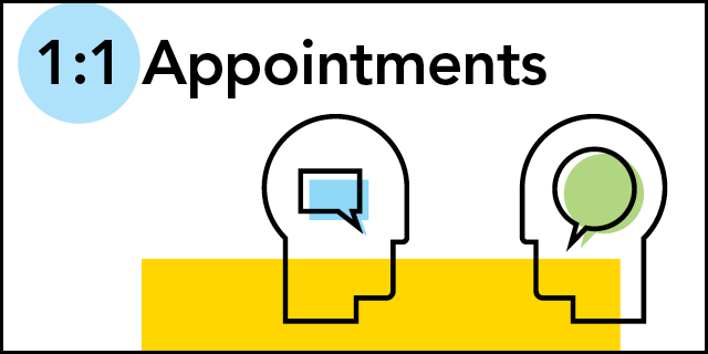 1:1 Appointments